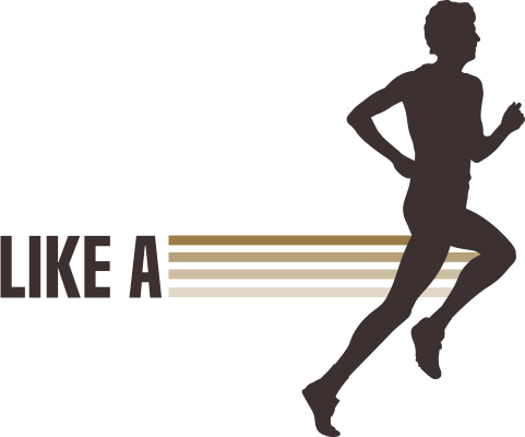 Run Like a Legend - Logo
